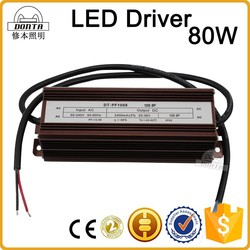 waterproof led power supply 80w