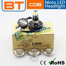 china manufacture h6 h4 moto led headlight m3c with ce RoHs