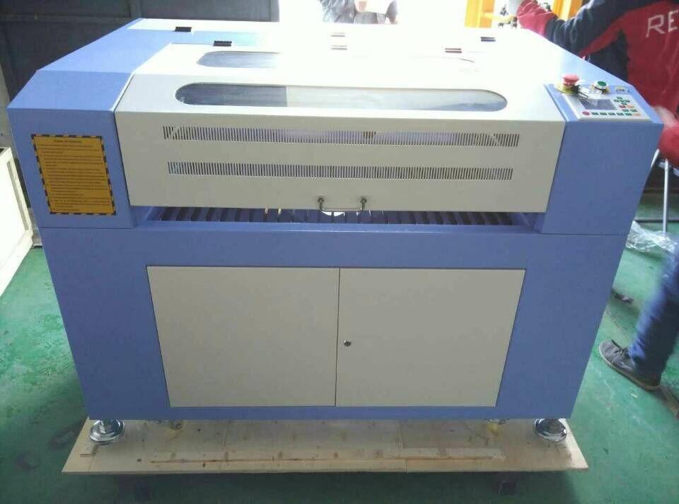 ACUT-1290 лазерная трубка 40 Вт co2 лазерный режущий станок для рекламы