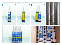 Glass Sealant, Mildew Resistant Silicone Sealant, Window Silicone Sealant