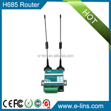 Industrial WiFi 3G Router with Sim Slot Replaceable Antenna
