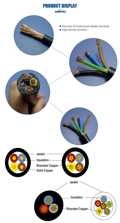 Vente chaude frais généraux PVC jaket creative contrôle du volume câble