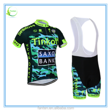 2015 Pro team quick dry sublimation print cycling garment