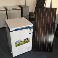 BD/BC 108L dc 12V/24V compressor home appliance solar powered car refrigerator freezer fridge can also through AC/DC adapter