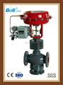 China válvula de accionamiento neumático fabricante, 3 way válvula de accionamiento neumático, neumático válvula rotativa