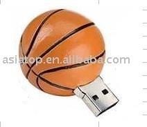 Basketball shape Gift USB Flash Drive (OEM)