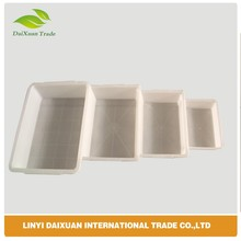 simple small plastic square boxes with white color wide usely in daily life