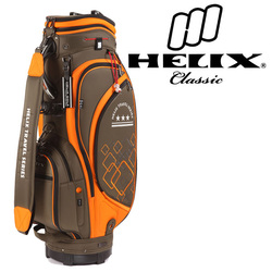 Helix 600D nylon golf bag with wheels /rolling wheel golf travel golf bag /top golf selling products