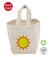 Natural Eco Frinedly Promotional Shopping Jute Bag With Tote