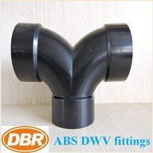 "In stock CUPC CSA certification 1.5"" double elbow abs dwv fittings for drainage pipe"