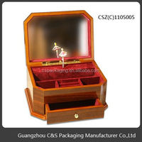 2014 Hot Sales High-End Handmade Various Design Wooden Music Box Baby Toys