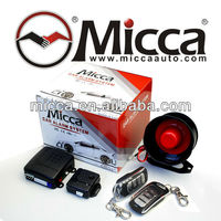 MAX 18 programmable functions One Way Car Alarm System/Alarmas para Autos with 4modes Anti-carjack(OW100)