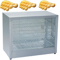 Hot Sale Commercial Use 110v 220v Electric Eggettes Waffle Warmer Display