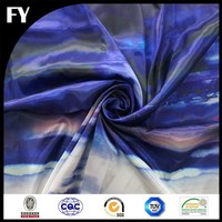 professional textile digital printied ice silk fabric