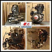 Single Cylinder Water/Air Cooled Lifan 200cc Gasoline Engine For Tricycle