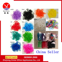 Chain Seller S-Clips Tie Dye Color Rubber Bands Loom Refilling Bracelet Making DIY