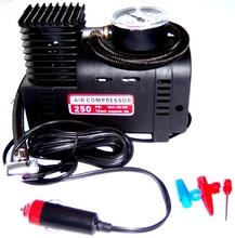 12V auto tyre air compressor mini air pump oilless air inflator