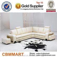 0413 --S864 three colors house renovation Living room furniture sofa fabric / leather sofa / sofa