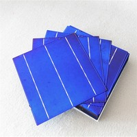 Efficiency 16.8%-18.2% A-grade 6x6 inch polycrystalline solar cells