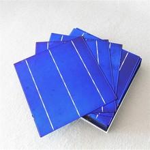 Efficiency 16.8%-18.2% A-grade 6x6 inch polycrystalline solar cells