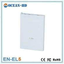 External ultra thin 3.7v 1100mah li-ion battery pack EN-EL5 for Nikon
