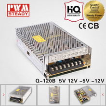 120W Q Series Normal Quad Output Switching Power Supply