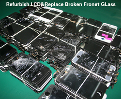 Refurbish Service for iphone 6/6 plus/5/5s/5c/4/4s,fix lcd screen broken front glass