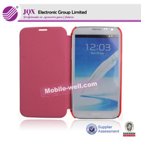 Flip PU Leather Stand Case Cover For Samsung Galaxy Note 2 N7100