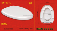 100% PP TOILET SEAT COVER 6010