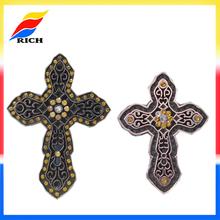 Custom souvenir fashionable metal cross ornament