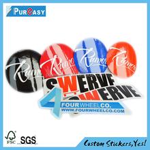 Custom high quality cricket bat sticker