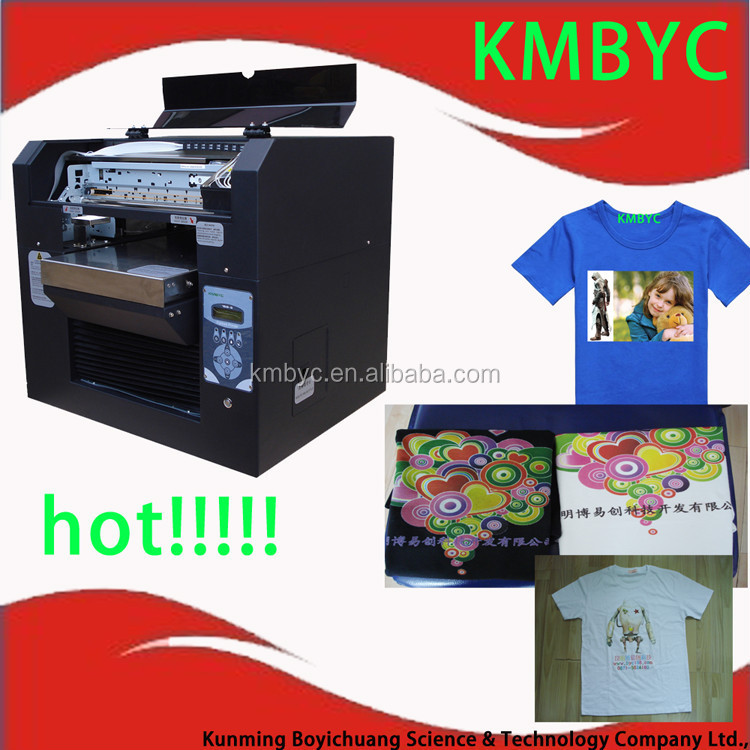 Hot Sale A3 Size Textile Machine Digital Direct Printing