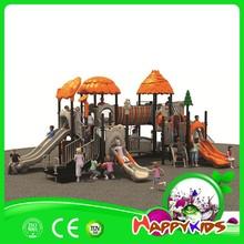 Kids plastic play house for mini playground, newly mcdonalds playground equipment
