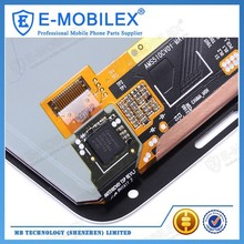 [E-MobileX LCD] wholesale foxconn mobile I9600 Lcd With Touch Screen Original Lcd Display For Samsung Galaxy S5 Phone Unlocked I