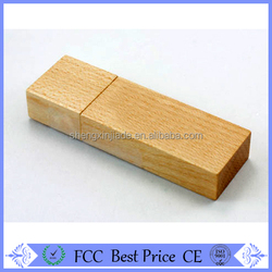 Wholesale wooden can shape usb flash drive with best price