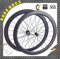2015 SoarRocs Lightest carbon 23mm width Chinese factory hybrid profile UD matte/3K matte and basalt brake tubular 50mm wheels