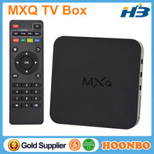 Hottest Quad Core Android Smart TV Box Amlogic S805 1.5Ghz 1GB RAM 8GB Full HD 1080P MXQ TV Box