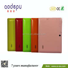 Zhixingsheng 7 inch mid android tablet with keyboard ZXS-Q88