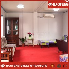 low cost portable Insulated foldable shop design office building floor plans, -steel