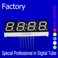 common anode/ cathode color blue 0.36 inch 4 digit 7segment led numeric display