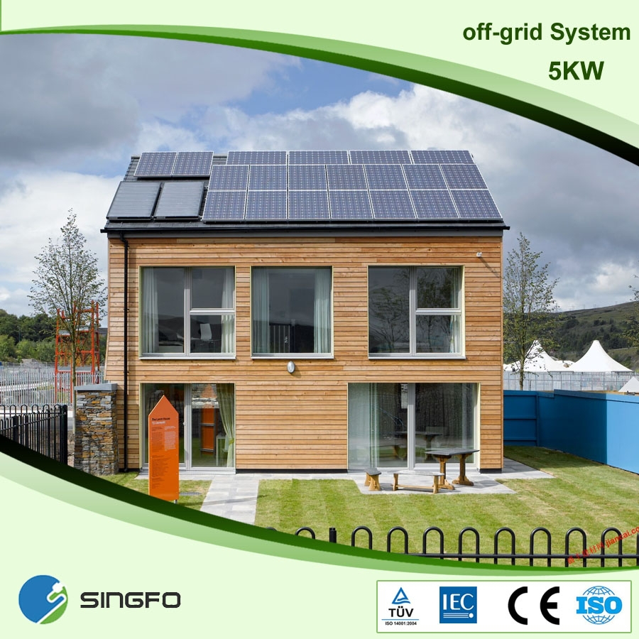 5kw Off Grid Solar Power System To Generate Electricity