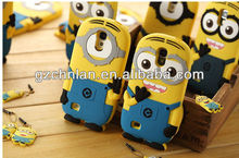 New arrival Soft silicone despicable me case for iphone 5