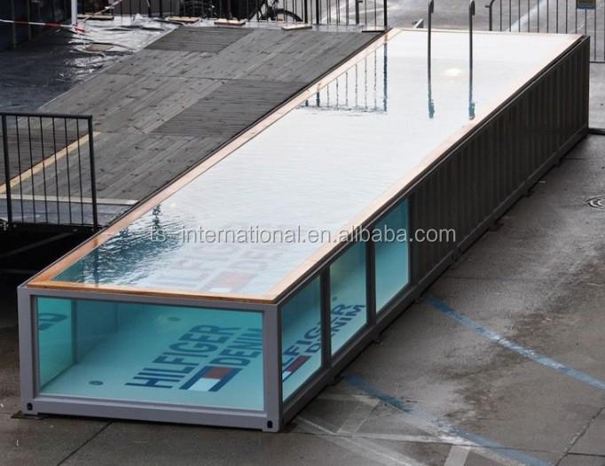 모바일 컨테이너 수영장 디자인, 방수 휴대용 컨테이너 배송 ...