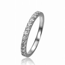 Hot! 18K White Gold Fashion Wedding Ring 12pcs Diamond Ring