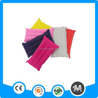 Folding travel automatic inflatable pillow