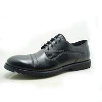Black wholesale mens Classics Shoes Rubber outsole Lace-up Shoes