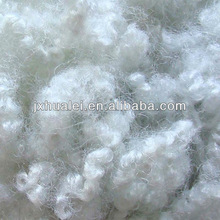 polyester fiber recycling grade raw white