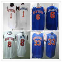 Top Quality Jerseys New York #33 Patrick Ewing Jersey Basketball Jersey Sports Jersey