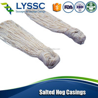 HACCP Approved Price Cheap High Quality Natural Sheep Casings / salted hog casing / sausage casing 90Meter /Hank