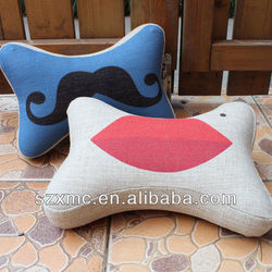 custom cotton bedding neck massage pillow filling with buckwheat hulls